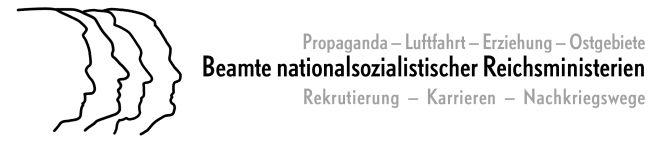Beamte nationalsozialistischer Reichsministerien